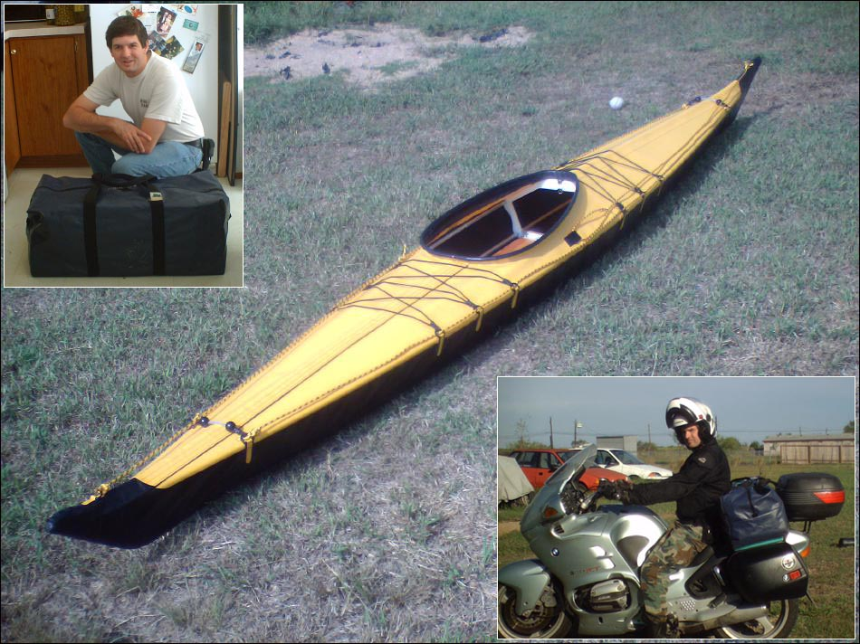 New) Folding Kayak Builders Manual - Sea Otter